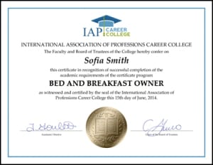 Certificate-BED