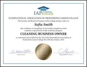 Certificate-CBO