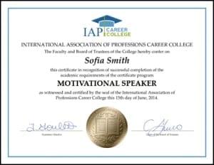 Certificate-MOT