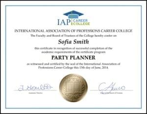 Certificate-PAR