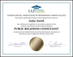 Certificate-PRC