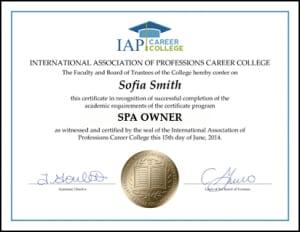 Certificate-SPA