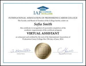 Certificate-VAB