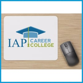 IAP-career-college-mouse-pad1