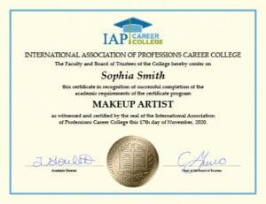 Makeup Artist Certificate Course Online