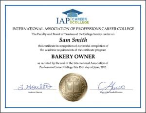 bakery-owner-certificate