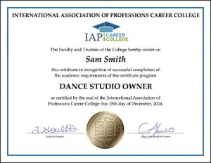 Certificate-DANCE-STUDIO-owner1
