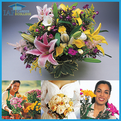 Florist certificate course online | floral design classes and floral arrangement classes