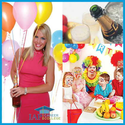Party planner certificate course online | How to become a party planner