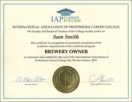 sample-certificate-brewery-owner-craft-microbrewery-certification-course-online
