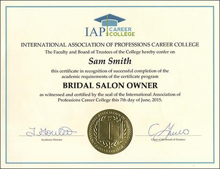 sample-certificate-bridal-salon-owner-certification-course-online
