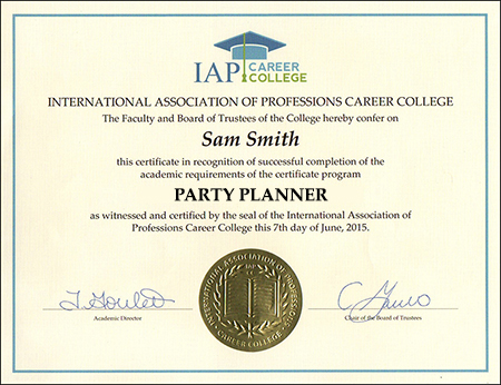 sample-certificate-party-planner-certification-course-online