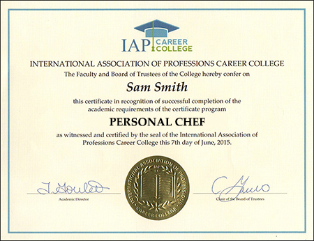 sample-certificate-personal-chef-certification-course-online