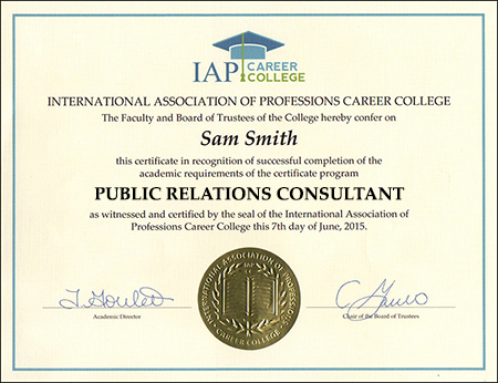 sample-certificate-public-relations-consultant-certification-course-online