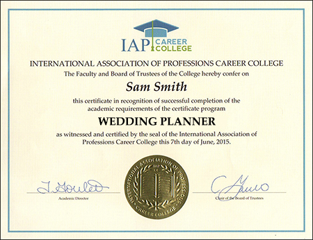 sample-certificate-wedding-planner-course